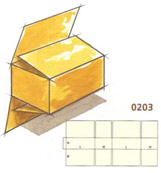 0203 Full Overlap Slotted Container (FOL)