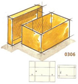0306 Design Style Container with Cover (DSC)