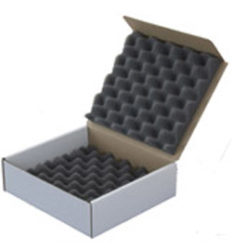 Polyethylene foam box